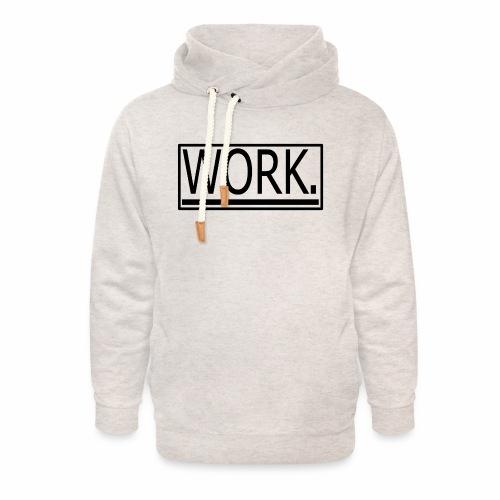 WORK. - Unisex sjaalkraag hoodie