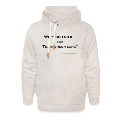 wermsch no ihpng black - Unisex Schalkragen Hoodie