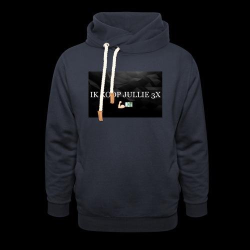 IK KOOP JULLIE 3X - Unisex sjaalkraag hoodie