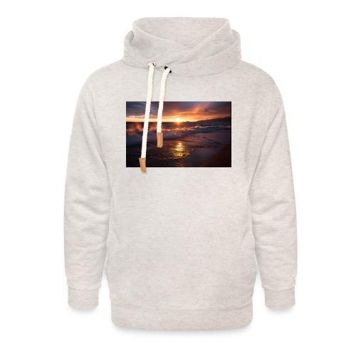 Magic sunset - Sudadera con capucha y cuello alto unisex