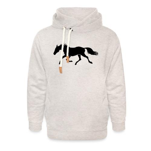 Cavallo - Felpa con colletto alto unisex