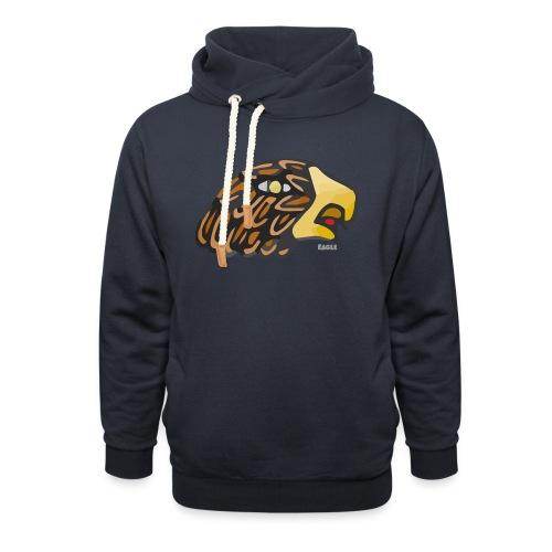 Aztec Icon Eagle - Unisex Shawl Collar Hoodie