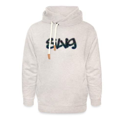 SilViG logo limited - Unisex hoodie med sjalskrave