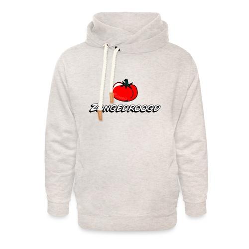 ZONGEDROOGD - Unisex sjaalkraag hoodie