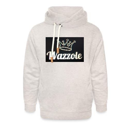 Wazzole crown range - Unisex Shawl Collar Hoodie