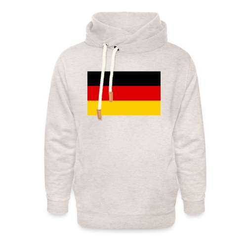 2000px Flag of Germany svg - Unisex Schalkragen Hoodie