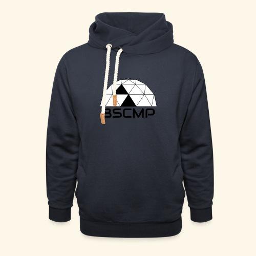 bscmp black - Unisex sjaalkraag hoodie