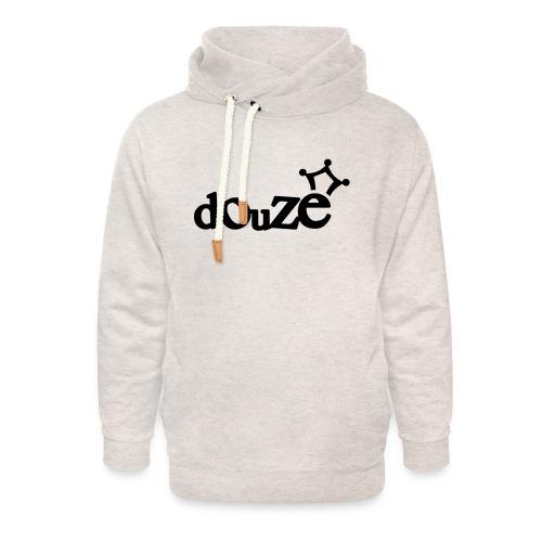 logo_douze - Sweat à capuche cache-cou unisexe