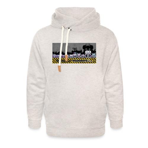 #MarchOfRobots ! LineUp Nr 2 - Unisex hoodie med sjalskrave