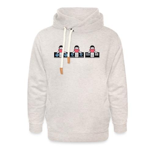 Musical Discovery - Unisex sjaalkraag hoodie