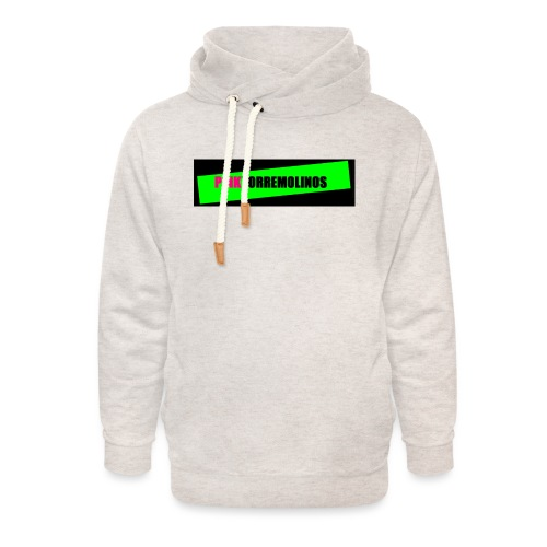 pinklogo - Unisex sjaalkraag hoodie