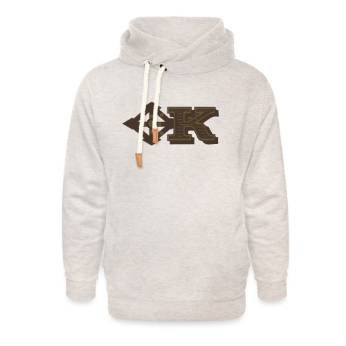 Kenya Airways Logo - Unisex Shawl Collar Hoodie