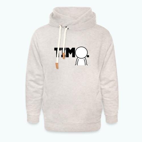 Design met ventje - Unisex sjaalkraag hoodie