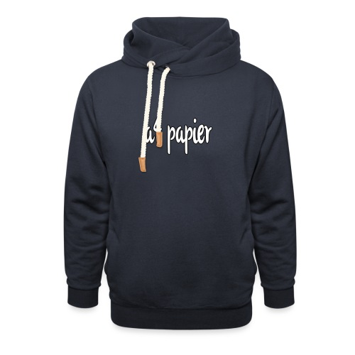 A4Papier - Unisex sjaalkraag hoodie