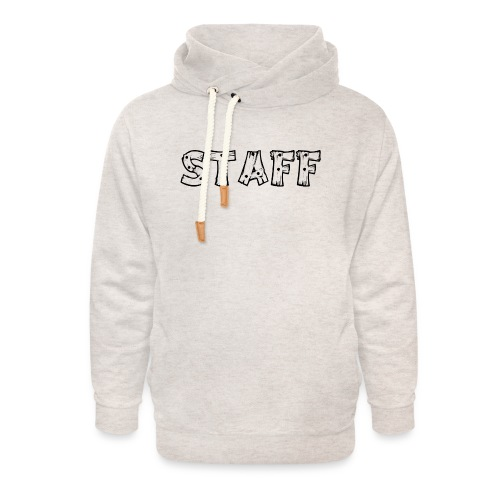 STAFF - Felpa con colletto alto unisex