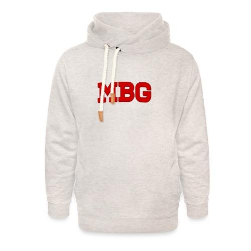 MBG - Unisex sjaalkraag hoodie