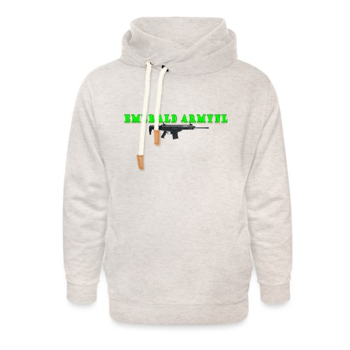 EMERALDARMYNL LETTERS! - Unisex sjaalkraag hoodie