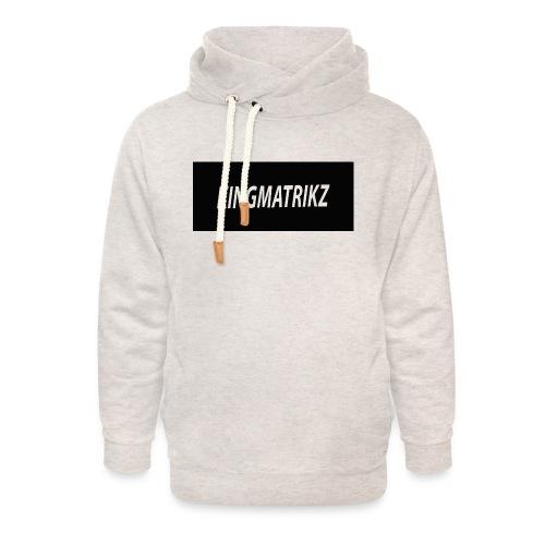 kingmatrikz - Unisex hoodie med sjalskrave