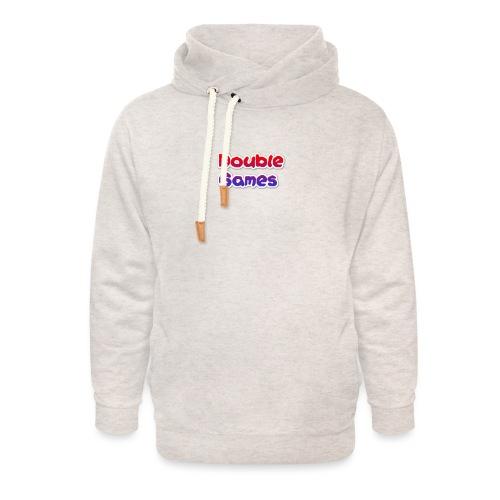 Double Games Tekst - Unisex sjaalkraag hoodie