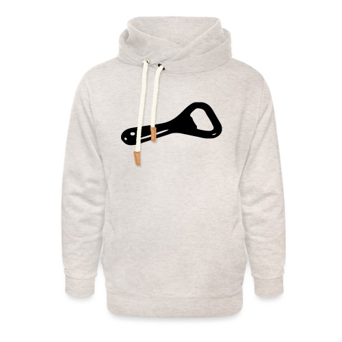 bottle opener - Unisex Shawl Collar Hoodie