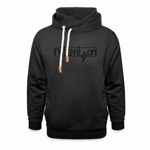 attention - Unisex sjaalkraag hoodie