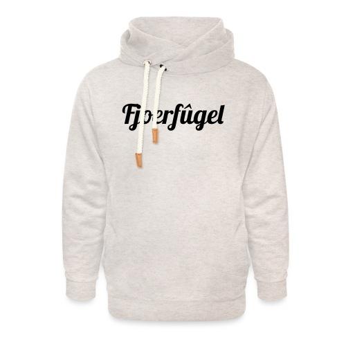 fjoerfugel - Unisex sjaalkraag hoodie