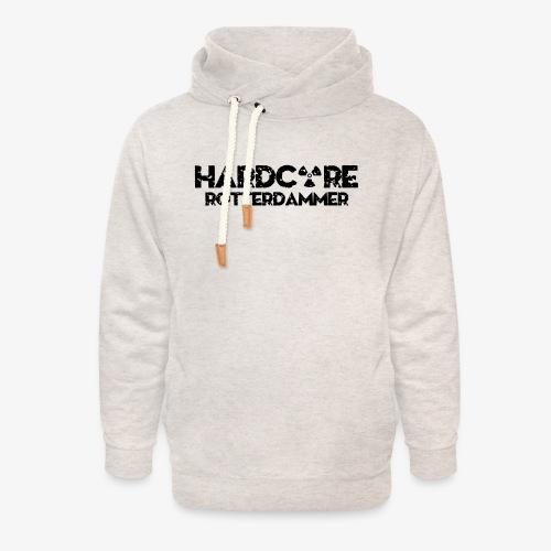 Hardcore Rotterdammer - Unisex sjaalkraag hoodie