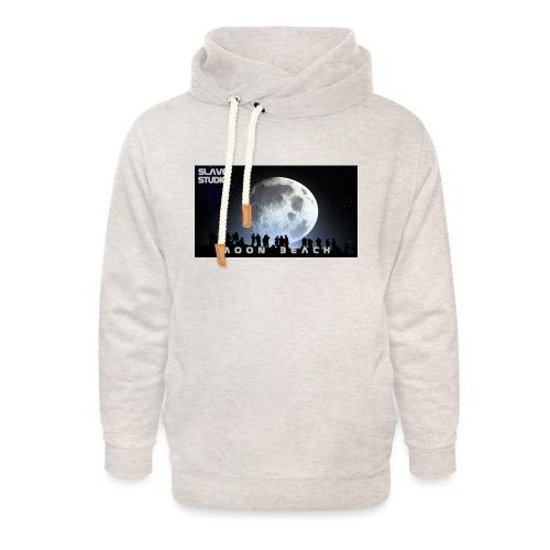 Moon beach - Felpa con colletto alto unisex