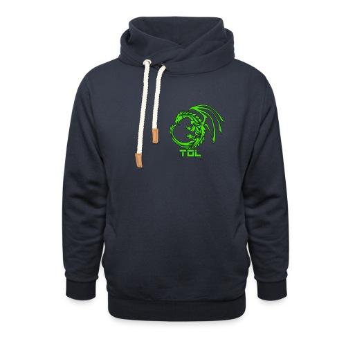 TDL shop - Unisex hoodie med sjalskrave