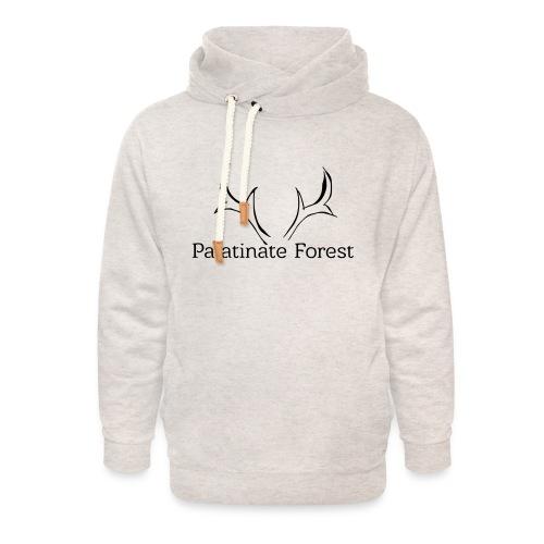 Palatinate Forest svg Geweih - Unisex Schalkragen Hoodie