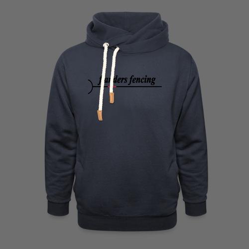 Flanders Fencing - Unisex sjaalkraag hoodie