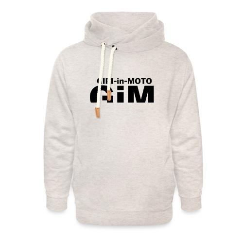 GiM nero - Felpa con colletto alto unisex