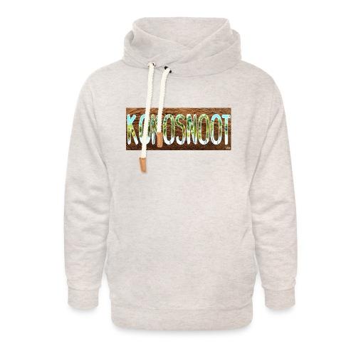 Kokosnoot - Unisex sjaalkraag hoodie
