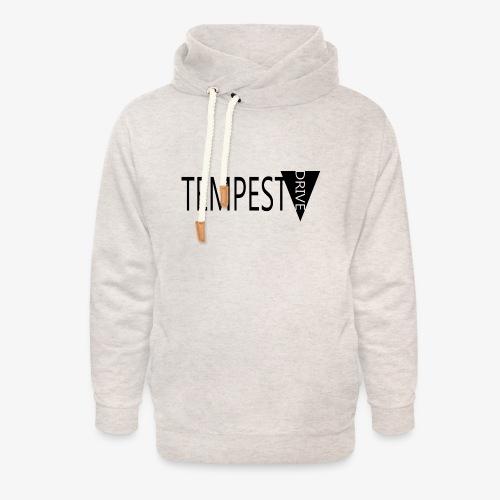 Tempest Drive: Full Logo - Unisex hoodie med sjalskrave