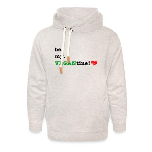 VEGANtine Green - Unisex Shawl Collar Hoodie