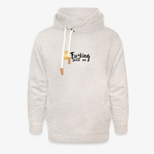 Egg Fucking Scuse me - Unisex Shawl Collar Hoodie