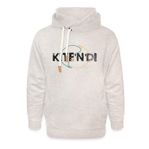Front Kitesurf Passion - Felpa con colletto alto unisex