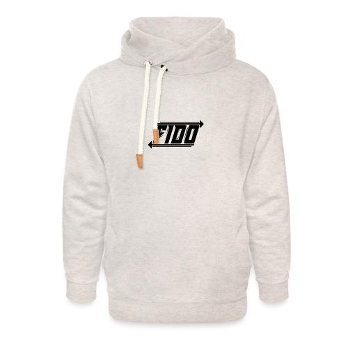Fido - Simple - Unisex hoodie med sjalskrave