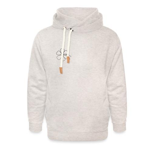 tropicoflower - Unisex sjaalkraag hoodie