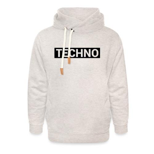 TECHNO - Unisex Schalkragen Hoodie