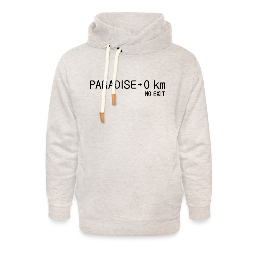 paradise0km - Unisex Schalkragen Hoodie