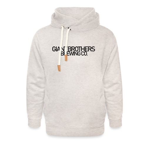 Giant Brothers Brewing co SVART - Luvtröja med sjalkrage unisex