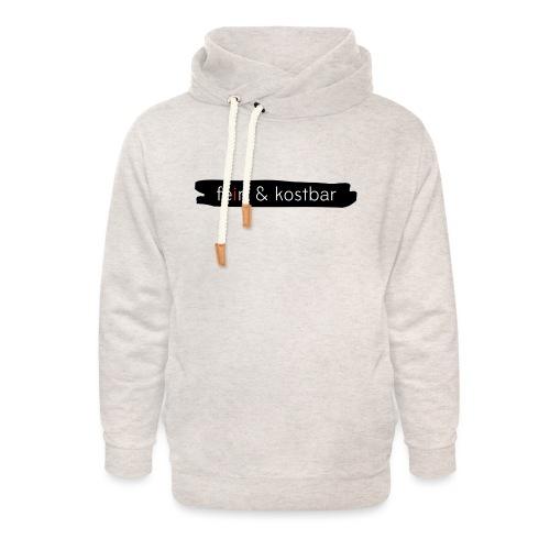 fein & kostbar - Markenlogo - Unisex Schalkragen Hoodie