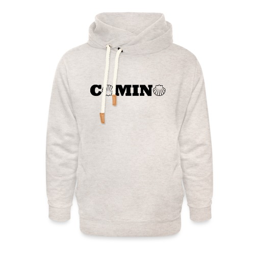 Camino - Unisex hoodie med sjalskrave