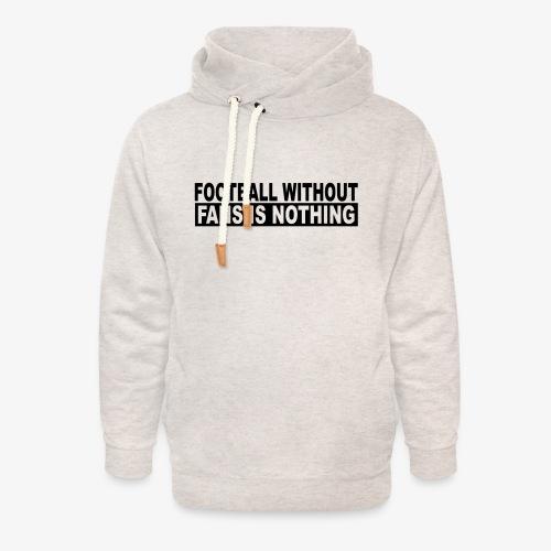 FOOTBALL - Unisex sjaalkraag hoodie