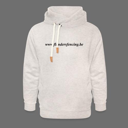 wwww.flandersfencing.be - Unisex sjaalkraag hoodie