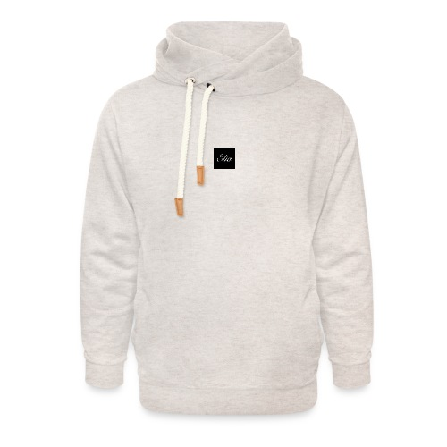 ELIA (Black and white) - Unisex Schalkragen Hoodie