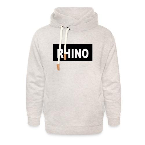 Rhino Logo - Unisex Shawl Collar Hoodie