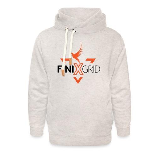 FinixGrid Orange - Unisex Shawl Collar Hoodie