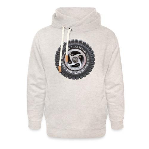 toughwheels - Unisex sjaalkraag hoodie